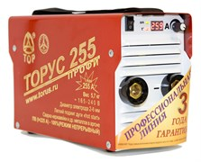 Сварочный инвертор ТОРУС-255 ПРОФИ